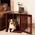 Primetime Petz Wood End Table Pet Crate
