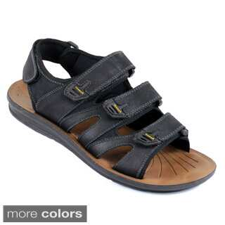 Arider COLE-05 Men's Strappy Genuine Leather Comfort Sandals