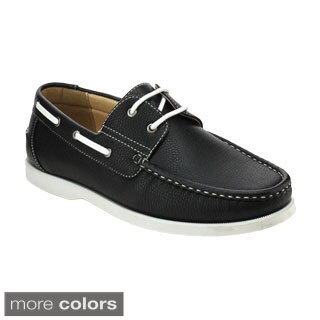 J's Awake Winson-01 Men's Comfort Driving Moccasin Style Slip On Loafers