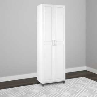 Altra SystemBuild White Kendall 24 inch Storage Cabinet