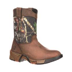 Boys' Rocky Aztec Wellington 3639 Mossy Oak Break Up