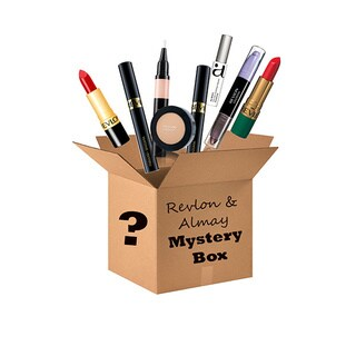 Revlon and Almay 10-piece Cosmetics Mystery Box