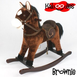 SB Kaboodles Plush Rocking Horse with Sound and Motion
