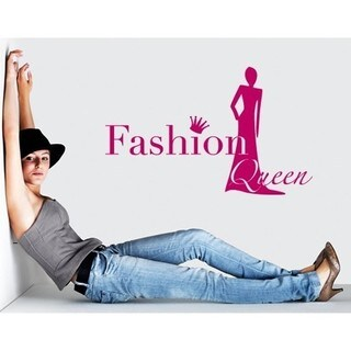 Fashion Queen Wall Decal Vinyl Art Home Decor