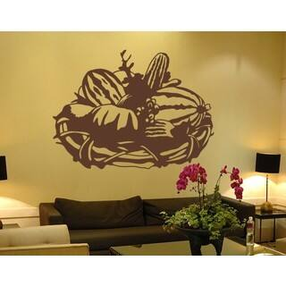 Autumn Basket Wall Decal