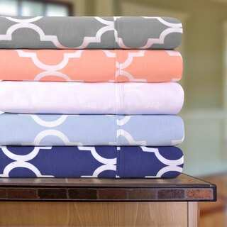 Superior Cotton 300 Thread Count Trellis Sheet Set