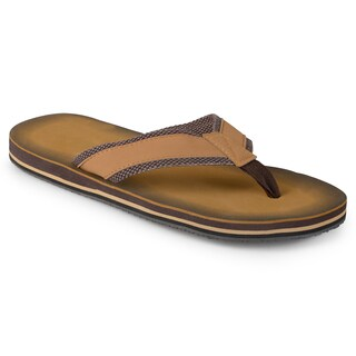 Vance Co. Men's Casual Flip Flop Sandals