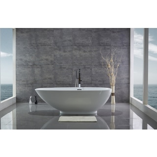 Legion Furniture 74-inch Freestanding Bathtub