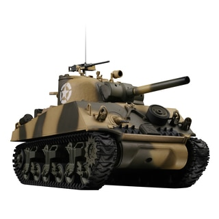 VS Tanks 1:24-scale Desert Camouflage US M4 Sherman Tank