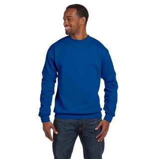 Ringspun Men's Crew-Neck Royal Sweater