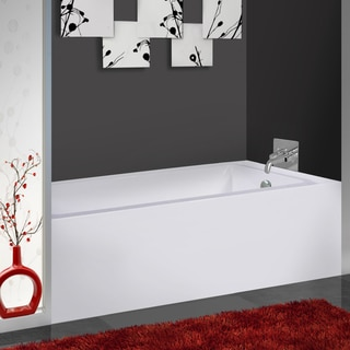 Fine Fixtures Acrylic Soaking Bathtub