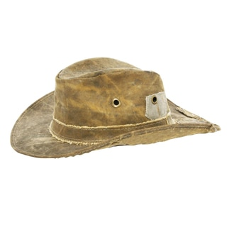 The Real Deal Brazil's Tan Recyceled Cotton Cavans Original Hat