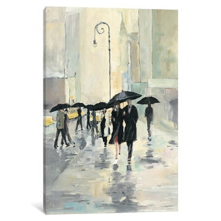 iCanvas City in the Rain by Avery Tillmon Canvas Print