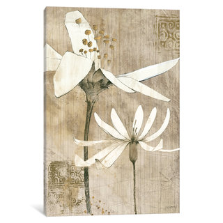 iCanvas Pencil Floral II by Avery Tillmon Canvas Print