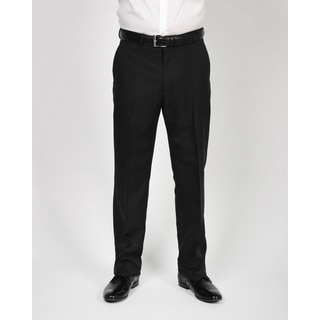 Dockers Men's Black Polyester Straight-fit Pants