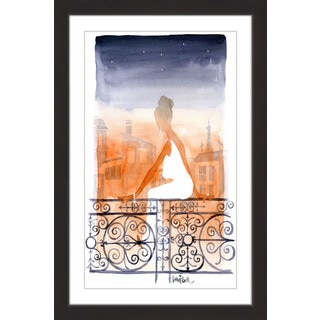 Marmont Hill - 'Paris' by Lovisa Oliv Framed Painting Print
