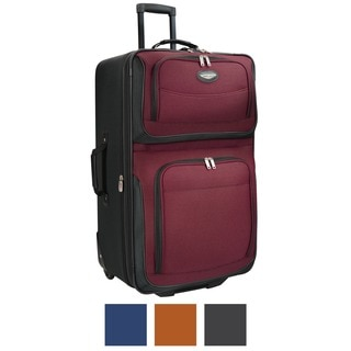 Travel Select by Traveler's Choice Amsterdam 29-Inch Large Expandable Rolling Upright Suitcase