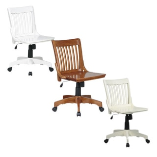 Office Star Deluxe Wooden Bankers Chair