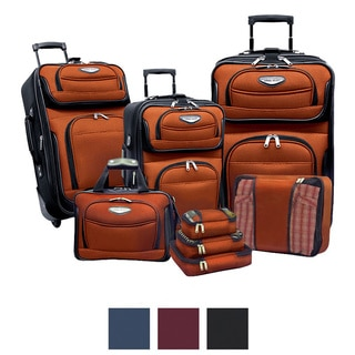 Travel Select by Traveler's Choice Amsterdam II 8-piece Deluxe Packing Luggage Set