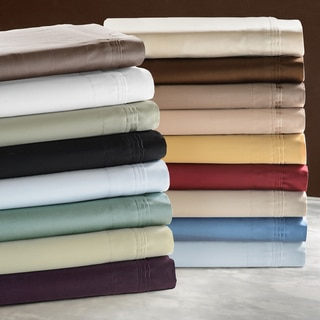 Superior Cotton 650 Thread Count Deep Pocket Solid Sheet Set