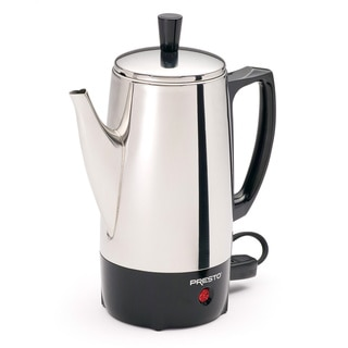 Presto Stainless Steel 6-cup Percolator