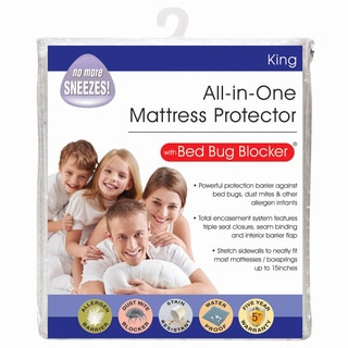 All-In-One Protection with Bed Bug Blocker Mattress Protector