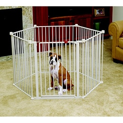 Carlson Convertible Pet Yard Exercise Pen