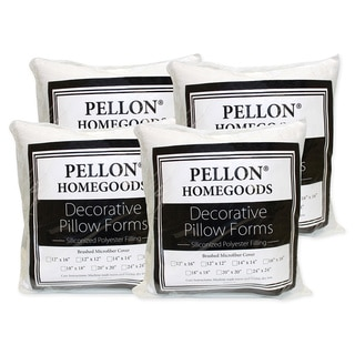 Pellon Decorative Pillow Inserts 18-inch x 18-inch (Set of 4)