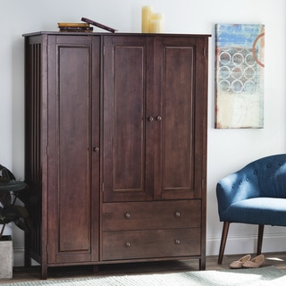 Wenge Finish 3-door Wardrobe