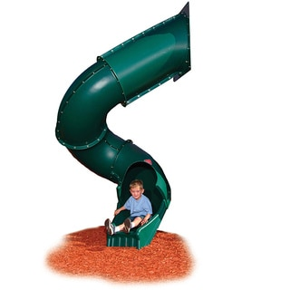 Swing-N-Slide Green Turbo Tube Slide