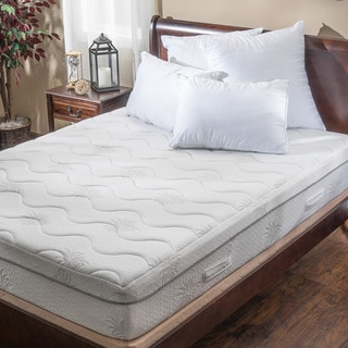 Christopher Knight Home Aloe Gel Memory Foam 11-inch Twin-size Smooth Top Mattress