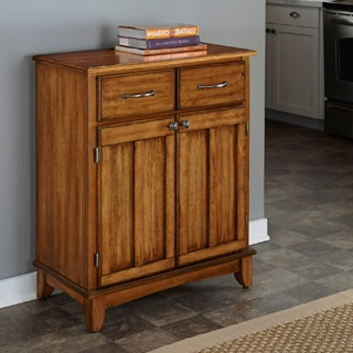 Home Styles Cottage Oak Buffet with Wood Top