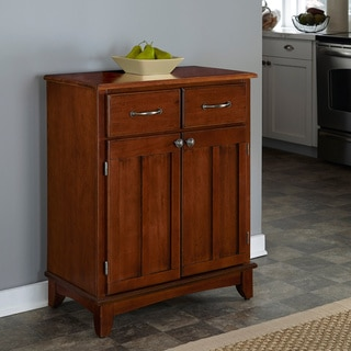 Home Styles Medium Cherry Buffet with Wood Top