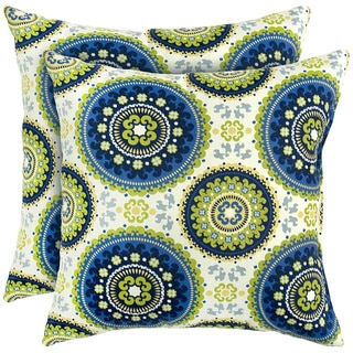 17-inch Outdoor Summer Square Accent Pillow (Set of 2)