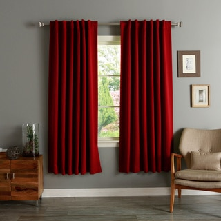 Aurora Home Insulated 72-inch Thermal Blackout Curtain Panel Pair