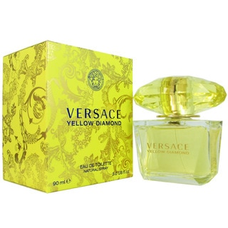 Versace 'Yellow Diamond' Women's 3-ounce Eau de Toilette Spray