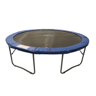 15-foot Round Blue Super Trampoline Safety Pad