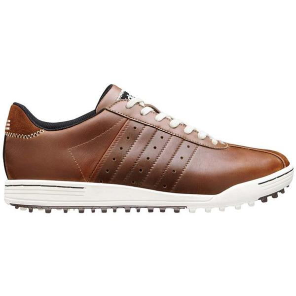 Adidas Men's 'Adicross' Brown Leather Golf Shoes by Adidas