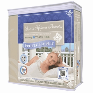 Protect-A-Bed Luxury Waterproof Tencel Mattress Protector
