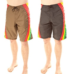 Rasta Surf Waves Men's Board Shorts (Nepal)