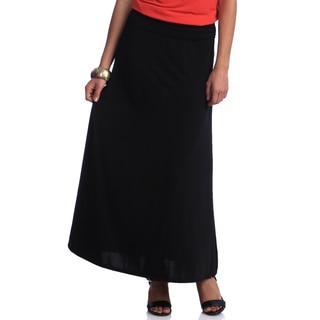 Women's Black Maxi Skirt