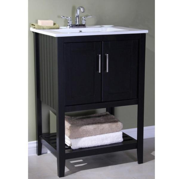 Legion Furniture Ceramic Top 24 Inch Single Sink Bathroom Vanity Greatofferstock Com Shopping The Best Deals On Bathroom Vanities