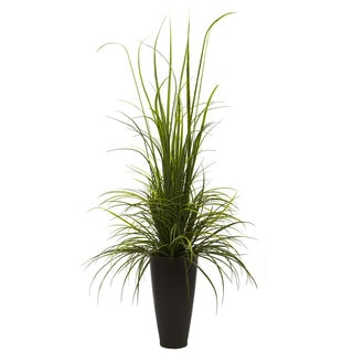 64-inch River Grass and Planter Indoor/ Outdoor Decor