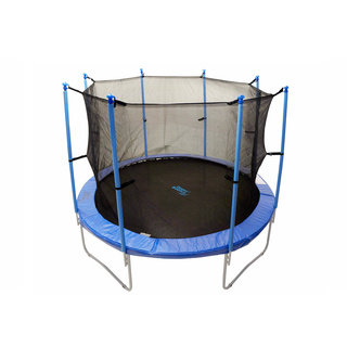 Trampoline Enclosure Set for 14 ft. Round Frame Trampolines with 4/ 8 'W' shaped Legs