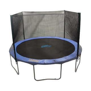Trampoline Enclosure Set for 12 ft. Round Frames with 2 or 4 W-shaped Legs