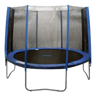 Trampoline Enclosure Set for 13 ft. Round Frames with 4 or 8 W-shaped Legs