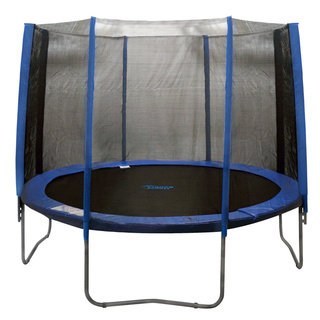 Trampoline Enclosure Set for 14 ft. Round Frames with 4 or 8 W-shaped Legs