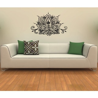 Lotus Flower Vinyl Wall Decal