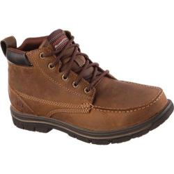 Skechers Men's Relaxed Fit Segment Barillo Brown