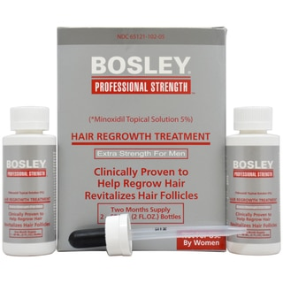 Bosley Men's Hair Regrowth Extra Strength 2-ounce Treatment